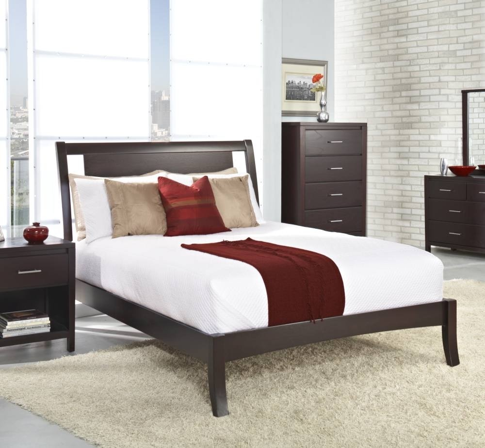 Nevis Low-Profile Bed