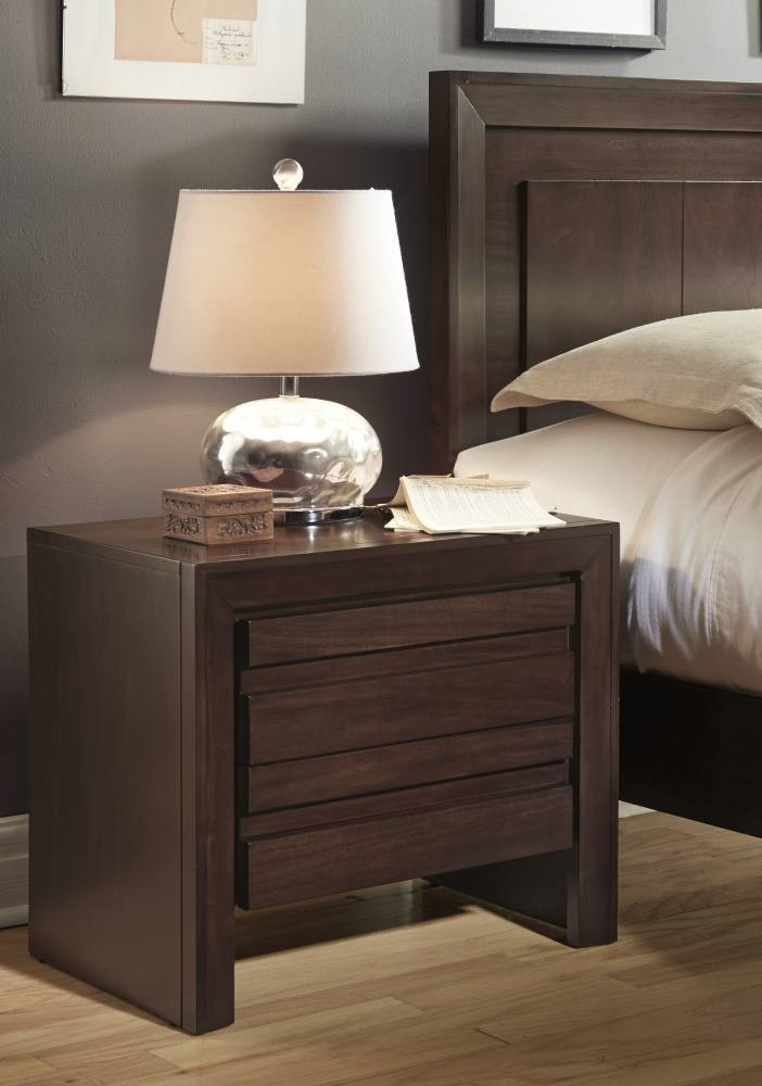 Element Nightstand with Charging Station